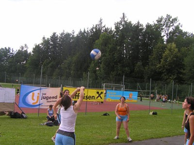 Lj. Obdach beim Training